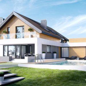 Projekt domu jednorodzinnego HomeKoncept 1