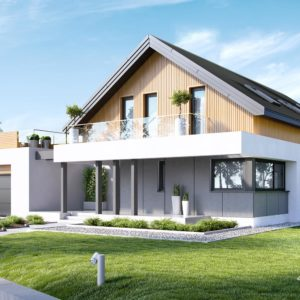 Projekt domu jednorodzinnego HomeKONCEPT-01 ENERGO